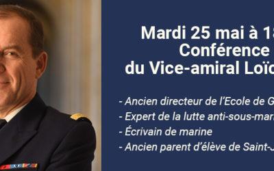 Conférence du Vice-amiral Loïc Finaz en Replay